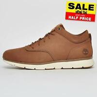 Timberland Killington Mens Leather Casual Fashion Mid Shoes Brown B Grade