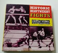 super 8 mm film - HISTORIC HEAVYWEIGHT FIGHTS - Castle Films