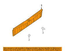 NISSAN OEM 04-06 Quest Interior-Rear-Rear Sill Plate 849905Z002