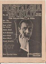 NOSTALGIA WORLD CONNERY JAMES BOND 007 STAR TREK DARK SHADOWS ARTIE SHAW SINATRA