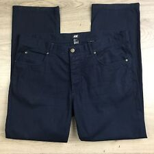 H&M Blue Classic Fit Men's Pants Size 36  L 30 (EE7)
