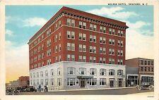 B60/ Sanford North Carolina NC Postcard c1910 Wilrik Hotel Building