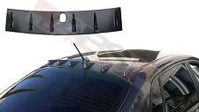 New Vortex Style Roof Fins for 2008-10 Subaru Impreza WRX Black Unpainted