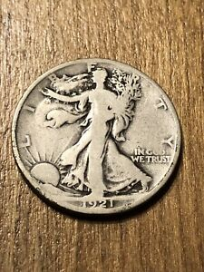 1921 Walking Liberty Half Dollar VG