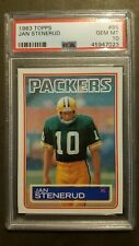 1983 Topps Football #85 Jan Stenerud card PSA 10 Gem Mint! Green Bay Packers!