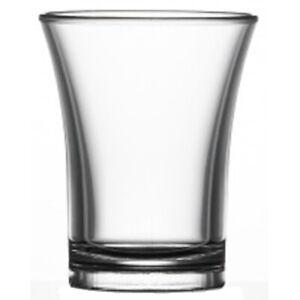 100x 25 ml Clear Polystyrene Shot Glass