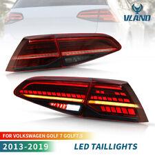VLAND LED feux arrière pour 13-19 VW Golf 7 MK7 MK7.5 VII Avec E-MARK Dynamique