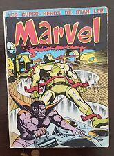 MARVEL N° 4 du 10 juillet 1970, (LUG) PETIT FORMAT. voir les scans. (D)