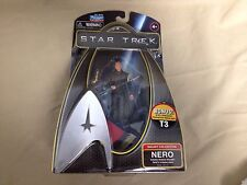 2009 Star Trek Galaxy Collection Nero Figure Bonus USS Enterprise Transporter T3