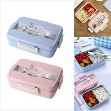 Microwave Bento Lunch Box Picnic Food Fruit Container Storage Box For Adult Kids