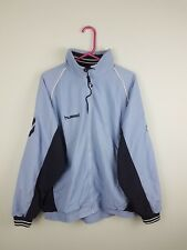 VTG RETRO BRIGHT BOLD USA ATHLETIC SPORTS HUMMEL TRACKSUIT TOP SHELLSUIT JACKET