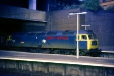 PHOTO  CLASS 47 DIESEL 47089  AMAZON  AT BIRMINGHAM NEW STREET DURING AUGUST 197