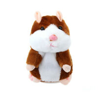Adorable Mimicry Pet Talking Hamster Repeats What You Say Plush Toy for Kid Gift