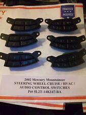 2002 Mercury Mountaineer STEERING WHEEL CRUISE & AUDIO SWITCH s 5L2T-14K147-BA