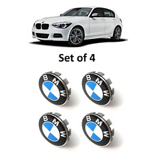 BMW Wheel Centre Caps 68mm - Blue & White
