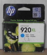Original HP 920XL Tinte CD972AE cyan für OfficeJet 6000 6500 7000  2014  OVP