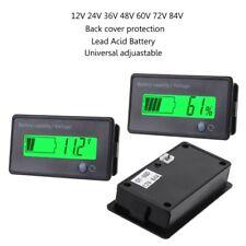 12V-84V Lead-acid Battery Capacity Indicator LCD Voltage Meter Voltmeter Monitor