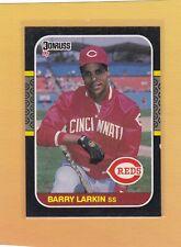 1987 DONRUSS BASEBALL BARRY LARKIN ROOKIE #492 REDS NMMT *64515