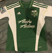 Adidas Youth MLS Jersey Portland Timbers Team Green Youth sz S Soccer