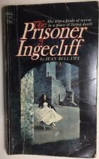THE PRISONER OF INGECLIFF by Jean Bellamy (1971) Dell gothic pb 1st