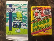 1990-91 2 Pack Soccer Lot Pacific (MLS) & Pro Set (England)