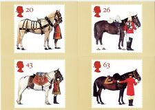 GB PHQ CARDS MINT NO. 189 1997 ALL THE QUEEN'S HORSES 10% OFF 5+