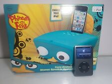 iPod classic 7th Generation Black (160 GB) with New Phineas and FERB Speaker