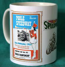 SPEEDWAY.POOLE 1973 RETRO PROGRAMME MUG.GREAT GIFT.NEW.BNIB