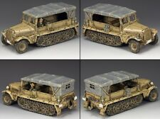 KING & COUNTRY AFRIKA KORPS AK097 AK SD. KFZ. 10 DEMAG HALF TRACK MIB