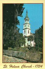 St. Helena Episcopal Church Beaufort South Carolina Civil War Hospital, Postcard