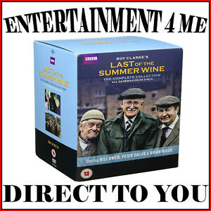 LAST OF THE SUMMER WINE - THE COMPLETE COLLECTION SERIES 1 - 32 **BRAND NEW DVD