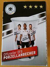 Offizieller DFB Porzellanbacher Fan Sammel Tasse Shell Becher Abwehr NEU & OVP!
