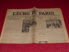 [PRESS WW2 AVANT GUERRE] THE ECHO DE PARIS #20173 10 JANVIER 1935 Laval