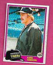 1981 TOPPS # 315 TIGERS KIRK GIBSON ROOKIE EX-MT CARD (INV# C3289)