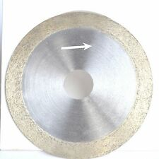 """4"""" inch 100mm x 20mm x 1mm Diamond Continuous Rim Saw Glass Wet Cutting Blade"""