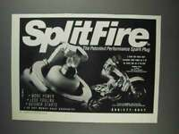 1991 SplitFire Spark Plug Ad - Patented Performance