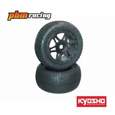 Kyosho Inferno ST 1/8 Nitro RC Truggy Wheels & Tyres une paire 17 M Hex-isth 111