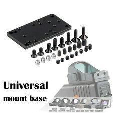 Universal Sight Mount Plate for RMR Vortex Burris Red Dot Sight Pistol Glock