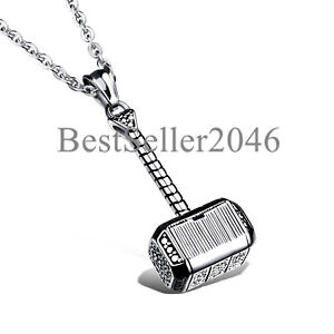 44x24mm Antique Pewter Thor/'s Hammer Jewelry Supplies Item 308p Necklace Supplies Thor/'s Hammer Pendant