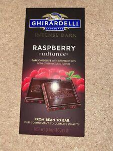 Ghirardelli Intense Dark Chocolate Bar Raspberry Radiance 3.5oz - USA IMPORT WOW