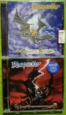 RHAPSODY - EMERALD SWORD + HOLY THUNDERFORCE 2 CD. SYMPHONY DAWN OF VICTORY