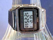 Vintage Rare Pulsar W309-5009A2 LCD Chrono Alarm 4 Button Multifunction All Orig