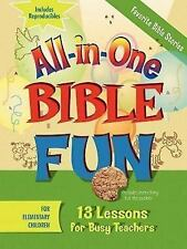 All-in-One Bible Fun: Favorite Bible Stories (Elementary  Edition)