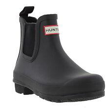Hunter Original Chelsea Wellies Womens Wellington Ankle Boots Size UK 4-8