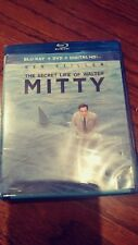 The Secret Life Of Walter Mitty Blu-ray + DVD + Digital HD Ben Stiller BRAND NEW