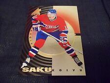 1997-98 Pinnacle Inside Inside Track #16 Saku Koivu Canadiens