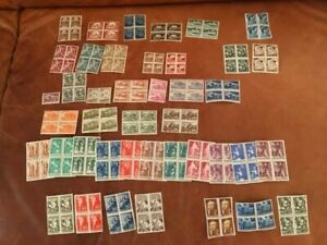 Bulgaria Stamps Lot of 9 Full Sets 1946-1950 MNH