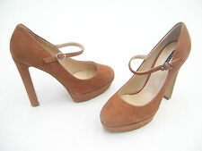TONY BIANCO SHOES SIZE 8 SUEDE HEELS LADIES FORMAL DRESS WORK PARTY BANGLE