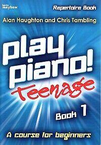 PLAY PIANO TEENAGE REPERTOIRE Book 1 Haughton*