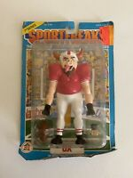 Vintage Rare 1986 HG Toy Sportfreaks PVC figure OX Football Player 1st Series